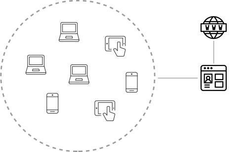microPAGE is een mini-website voor uw Wi-Fi gebruikers